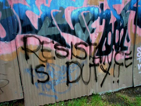 Resistance is Duty