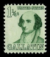 gallatin stamps