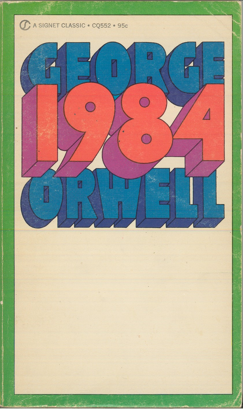 on the use of orwell s 1984 in internet policy narratives