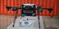Dominos pizza drone